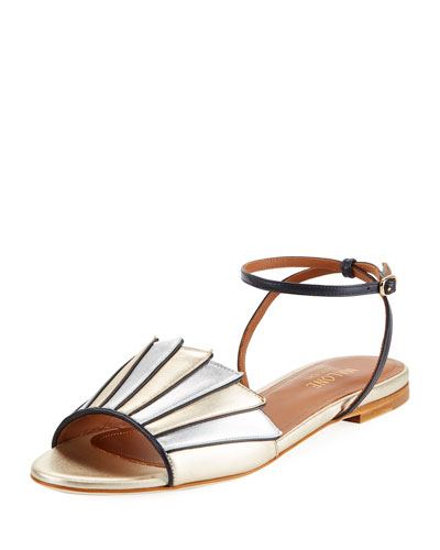 Lois Layered Metallic Sandal