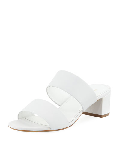 Double Strap Slide Sandal