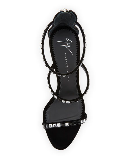 Three-Band Embellished Sandal