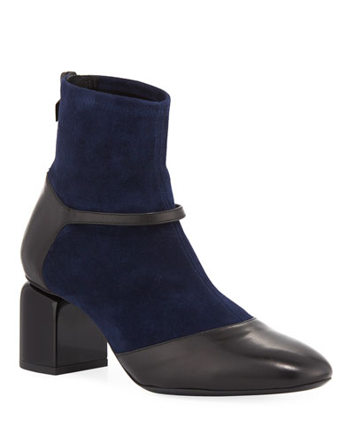 Laura Mary Jane Sock Bootie