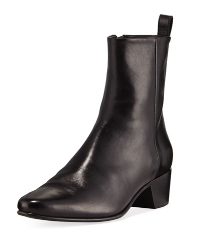 Reno Leather Ankle Boot