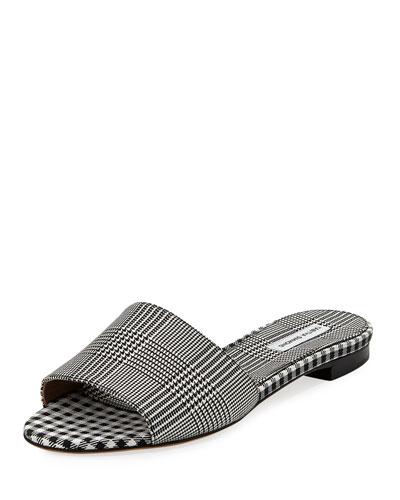 Sprinkles Frayed Slide Sandal