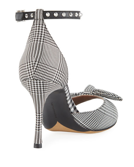 Mimmi Patterned Knotted Sandals