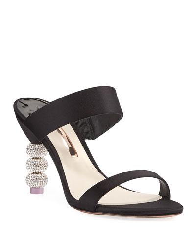 Jumbo Rosalind Ball-Heel Slide Sandal