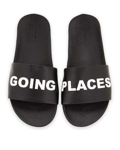 Going Places Slide Sandal