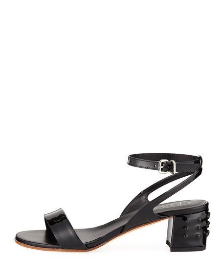 Gommini Mid-Heel Sandal