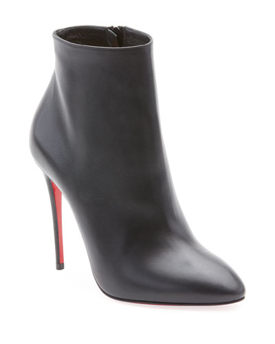 Eloise Leather Red Sole Bootie