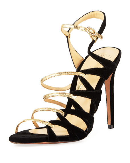 NOLITA COLORBLOCK STRAPPY SANDAL