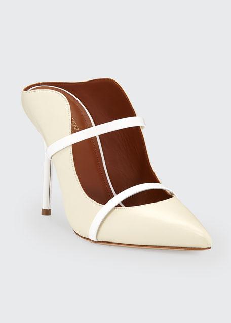 Maureen Leather Slide Mules