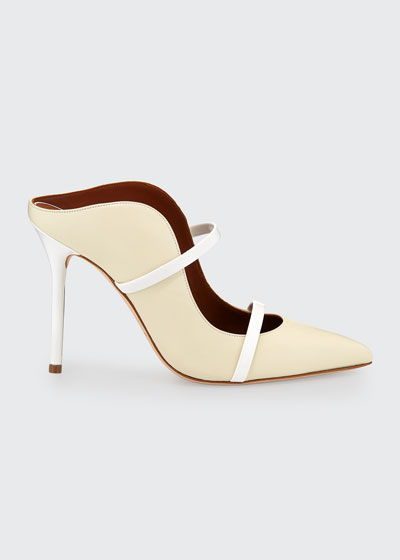 Maureen Leather Slide Mules