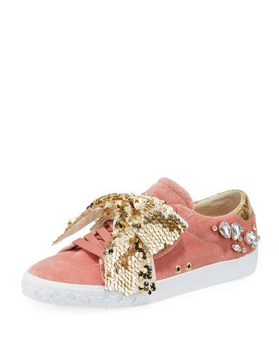 Demon Bis Sneaker with Bow