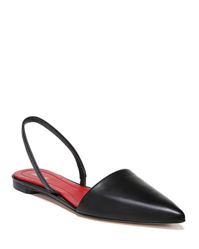Koko Slingback Ballerina Flat, Black