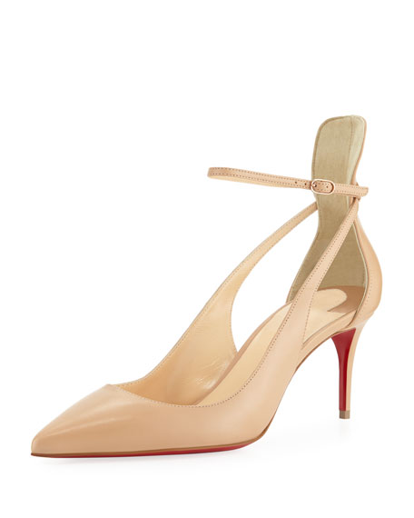 Mascara 70mm Red Sole Pump by Christian Louboutin