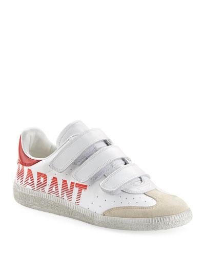 Beth Logo Grip-Strap Sneakers