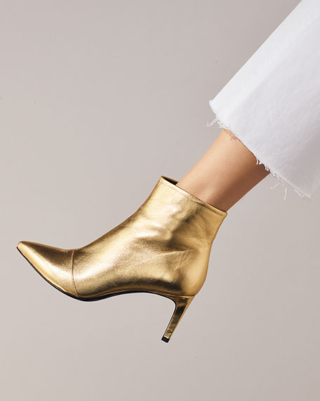 Beha Metallic Zip Boot