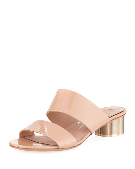4391e0b02797 Salvatore Ferragamo Patent Leather 30mm Sandal