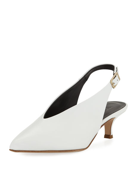 Lia Calf Slingback Pump by Tibi