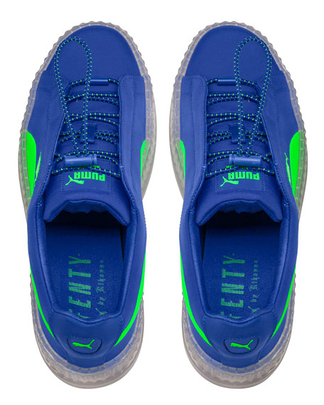 sneakers for cheap 70ac4 8f680 Cleated Creeper Surf Sneaker Blue/Green