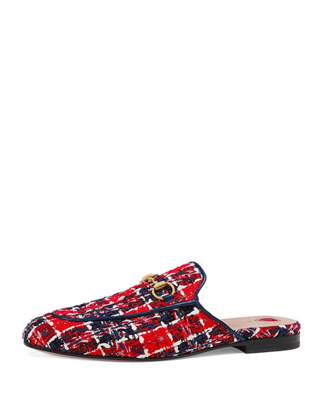 Princetown Tweed Check Slippers