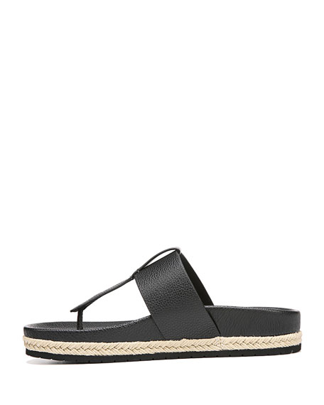 Avani Leather Platform Sandal