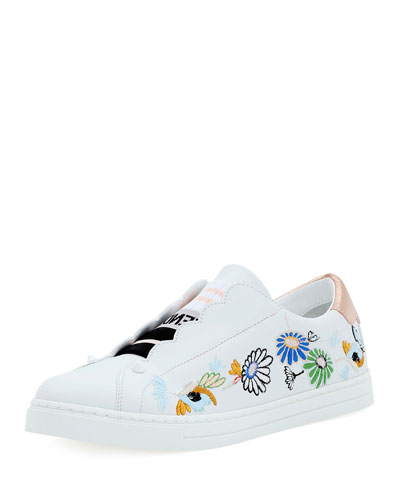 Rockoko Leather Slip-On Sneaker