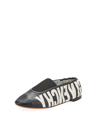 Rivington Logo Ballet Flats Slippers