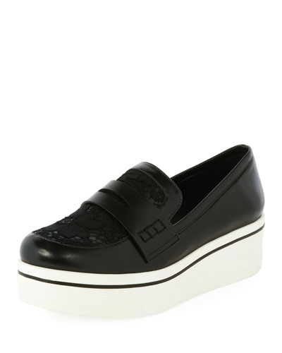 Binx Lace Sneaker-Style Penny Loafer