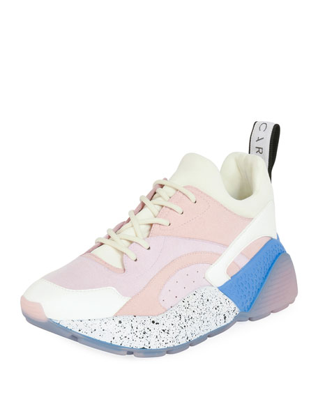 Eclypse Colorblock Lace-Up Sneakers