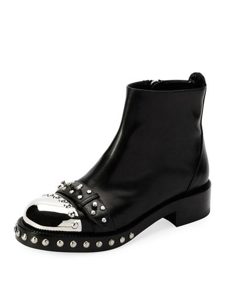 Toe Cap Studded Boots - IT37 / Black Alexander McQueen vNTZZO4XCI