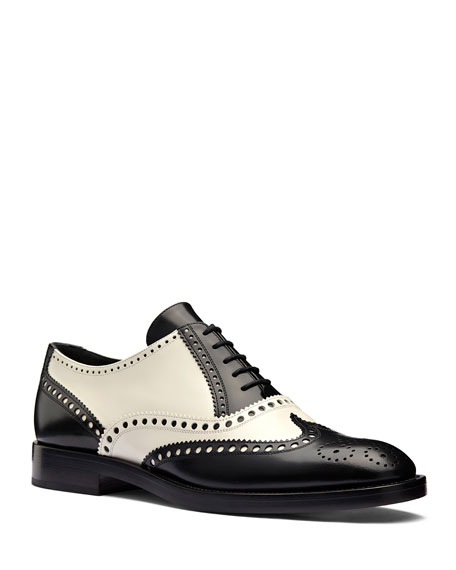 e3a84e23e Dior Diorunit Perforated Matte Calfskin Leather Oxford