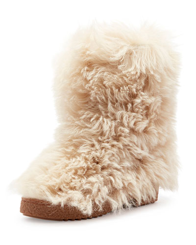 Furry Lugged Booties