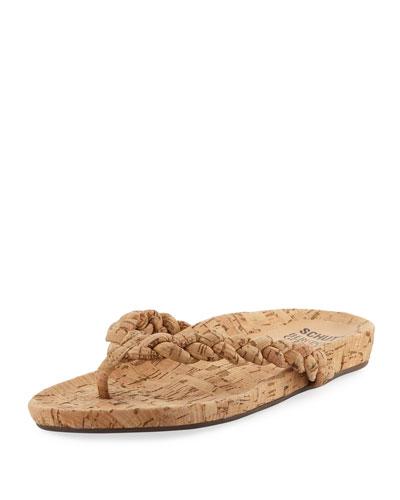 Lisbon Braided Thong Sandal