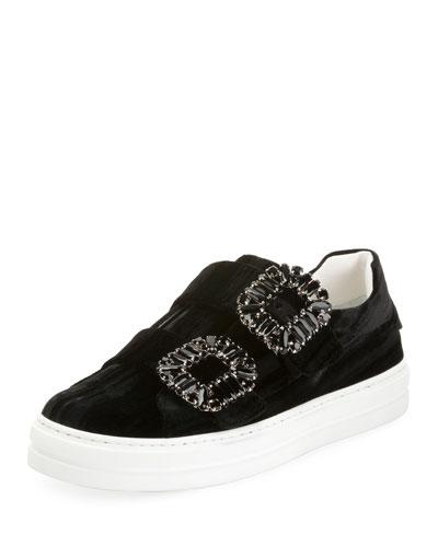 Sneaky Viv Double Strass Sneaker