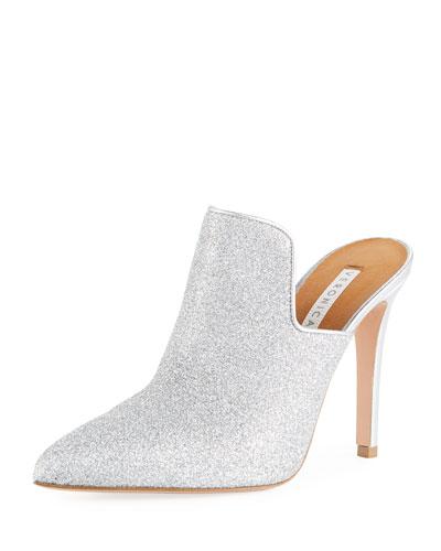 Pearla Glittered 100mm Mule