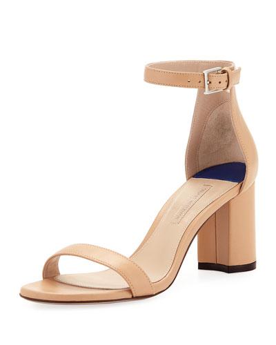 LessNudist 75mm Napa Sandals