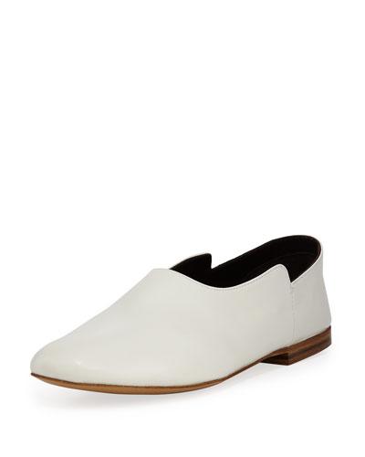 Boheme Calf Flat Slippers