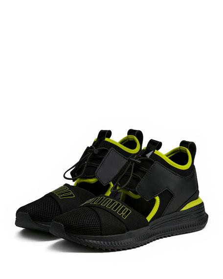 Fenty Puma by Rihanna Avid Leather Mesh High-Top Sneakers 6d1a3f23ed15c