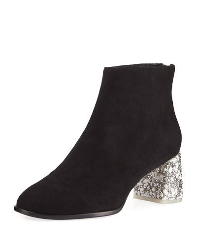 Stella Suede Ankle Boots