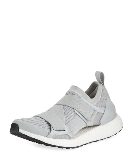 Ultra Boost X Knit Sneakers, Gray