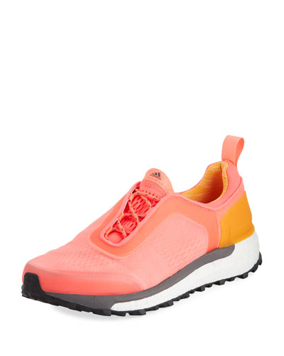 Supernova Trail Knit Sneakers, Orange
