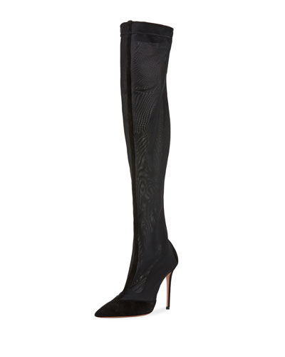 Hot Stuff Over-The-Knee Boots