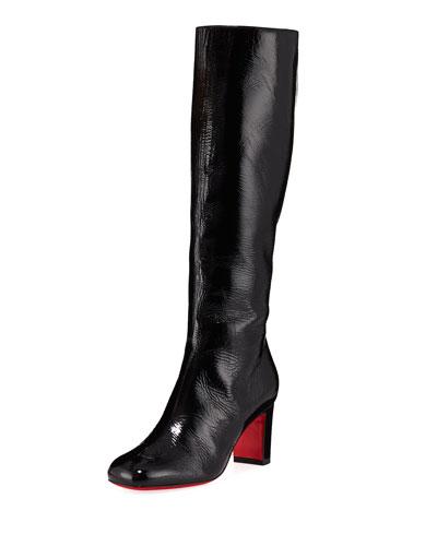Cadrilla Botta Patent Red Sole Boots