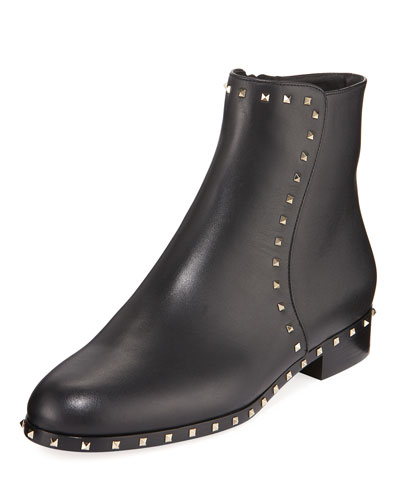 Rockstud Soul Zip Booties
