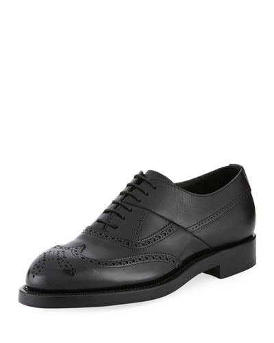 Twin Perforated Oxford Shoes