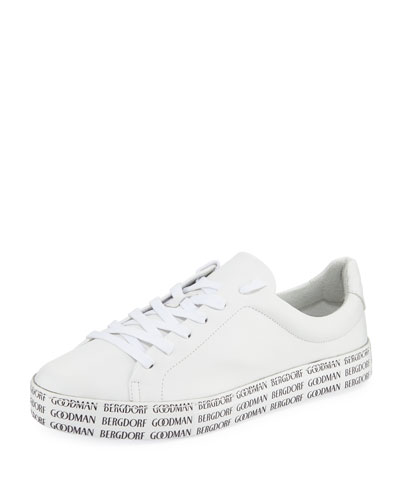 BG Bottom Leather Sneakers