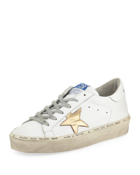 Image 1 of 1: Hi Star Leather Platform Sneaker