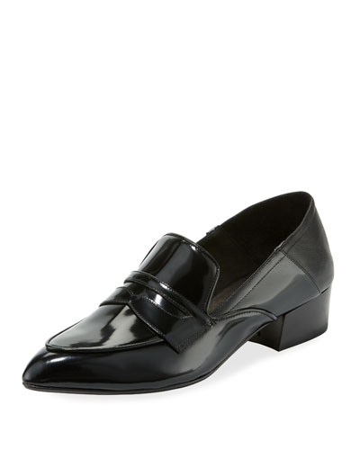 Corban Shiny Patent Loafers