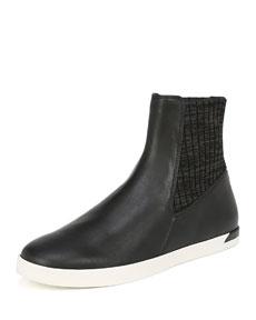 Vince Vidra Platform Leather Sneakers