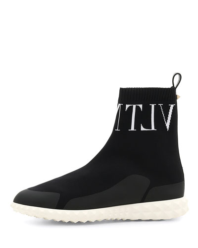 VLTN Stretch-Sock Sneakers