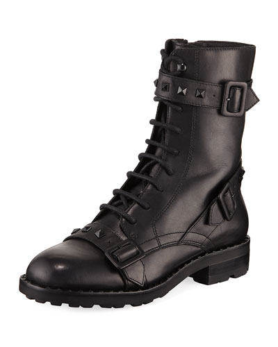 Witch Studded Leather Boot